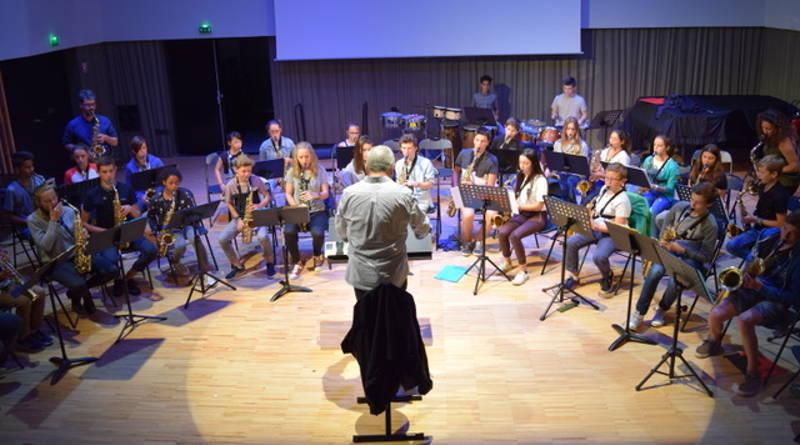 Orchestre saxophones