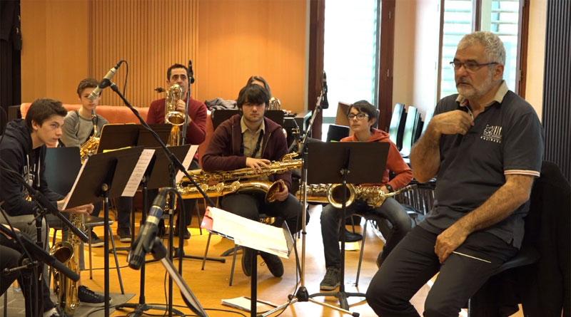 Enregistrement CD Sax Collège Aquitaine