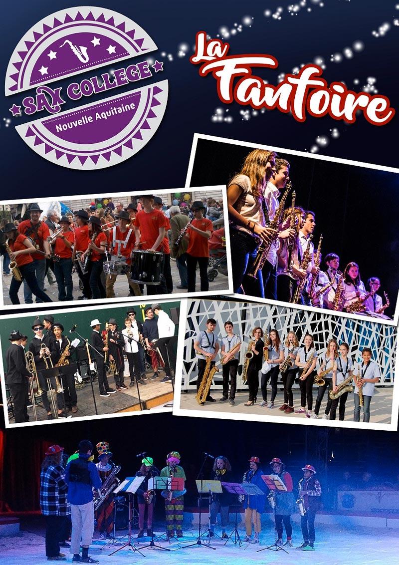 FANFOIRE et Sax Collège Nouvelle-Aquitaine